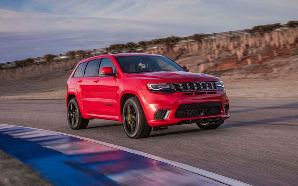 Jeep отзывает 707-сильный Grand Cherokee Trackhawk - «Jeep»